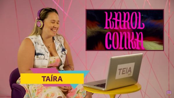 React do clip Lalá da Karol Conka – parceria com ViuHub